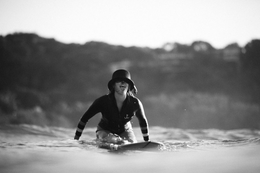 black and white surf photography